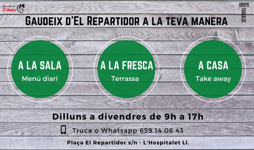 GAUDEIX D'EL REPARTIDOR A LA TEVA MANERA
